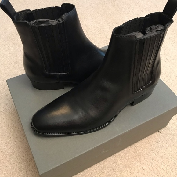 054994346eb All saints Curtis Chelsea boots NWT